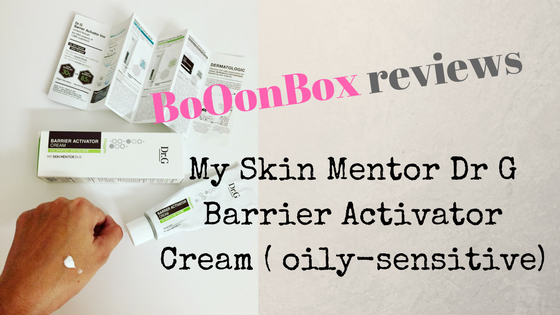 Review: Dr G Activator Cream