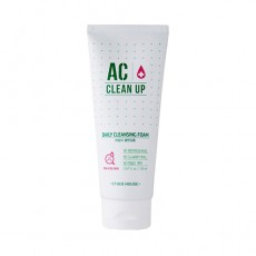 Etude House AC Clean Up Daily Acne Foam Cleanser - Switzerland|BoOonBox Best