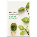Innisfree It's Real Squeeze Mask - Green Tea (1 sheet) - Switzerland|BoOonBox