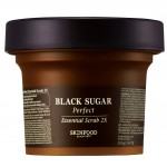 Skinfood Black Sugar Perfect Essential Scrub 2x - 210g