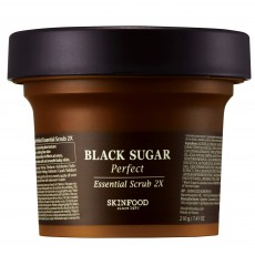 Skinfood Black Sugar Perfect Essential Scrub 2x - Skinfood Switzerland|BoOonBox