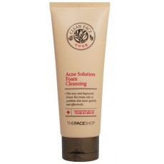 The Faceshop Clean Face Acne Solution Foam Cleansing - Switzerland|BoOonBox
